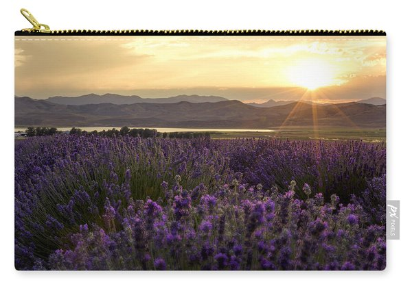 Lavender Glow Carry-all Pouch