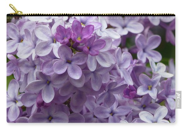 Lavender Lilacs Carry-all Pouch
