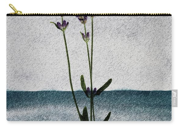 Lavender Ocean Breath Carry-all Pouch