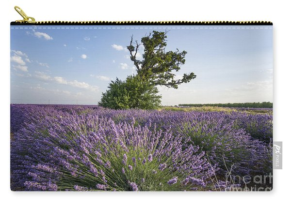 Carry-all Pouch featuring the photograph Lavender Provence  by Juergen Held