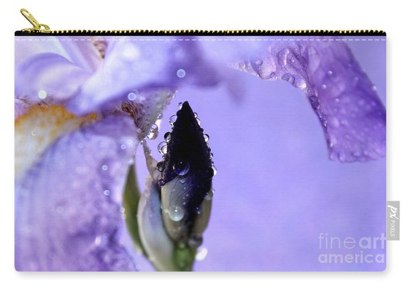 Lavender Rain Carry-all Pouch