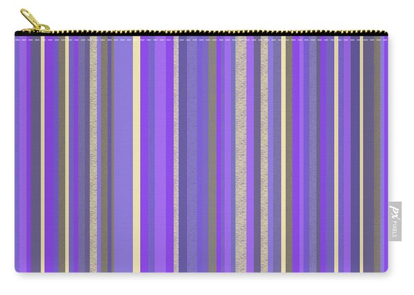 Lavender Twilight - Stripe Abstract Carry-all Pouch