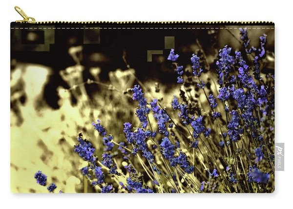 Lavender Yellow Carry-all Pouch