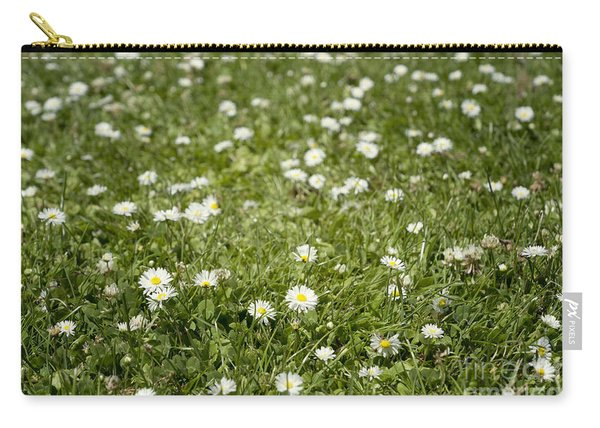 Lawn Of Daisies Carry-all Pouch