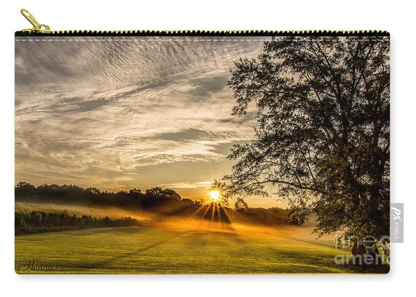 Lawn Sunrise Carry-all Pouch