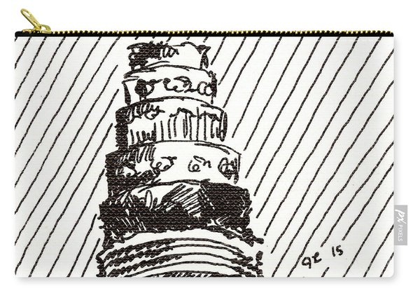 Layer Cake 1 2015 - Aceo Carry-all Pouch