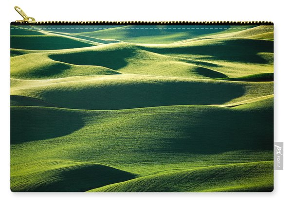 Layers Of Green Carry-all Pouch