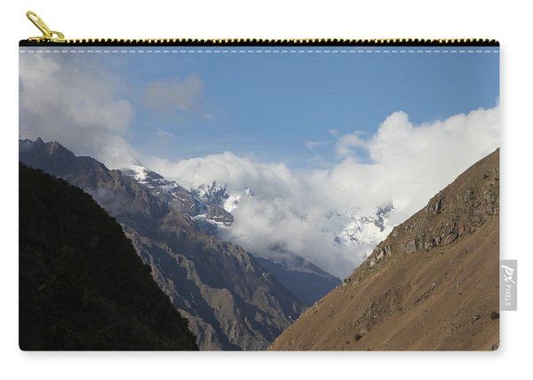 Layers Of Mountains Carry-all Pouch