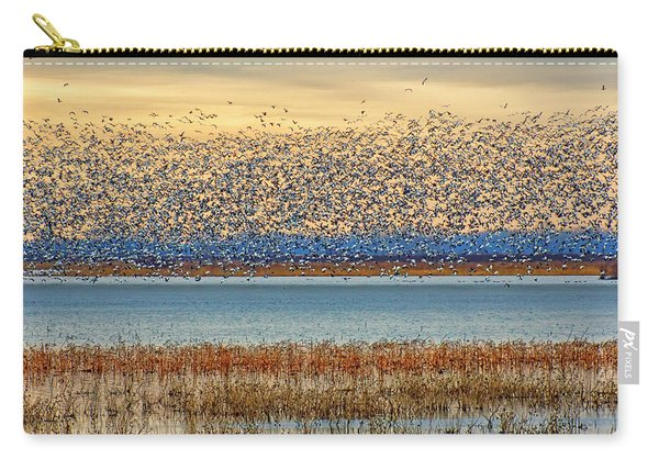 Layers - Snow Geese Carry-all Pouch