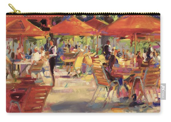 Le Cafe Du Jardin  Carry-all Pouch
