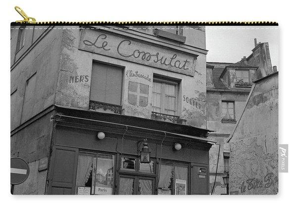 Le Consulat, A Restaurant In Montmartre, Paris, 1977 Carry-all Pouch