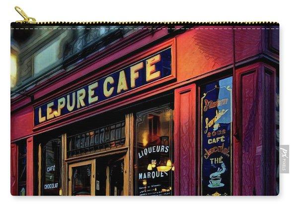 Le Pure Cafe - Paris Carry-all Pouch