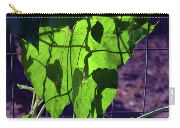 Leaf Shadows Carry-all Pouch