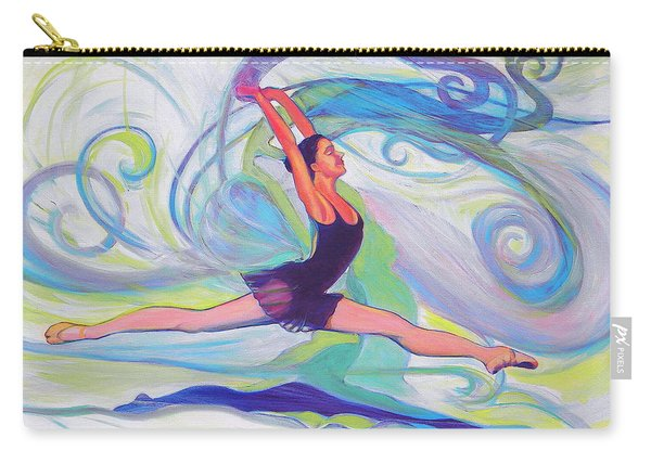 Leap Of Joy Carry-all Pouch