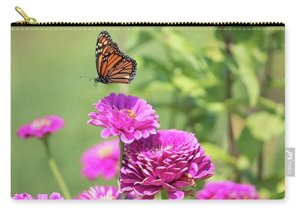 Leaping Butterfly Carry-all Pouch