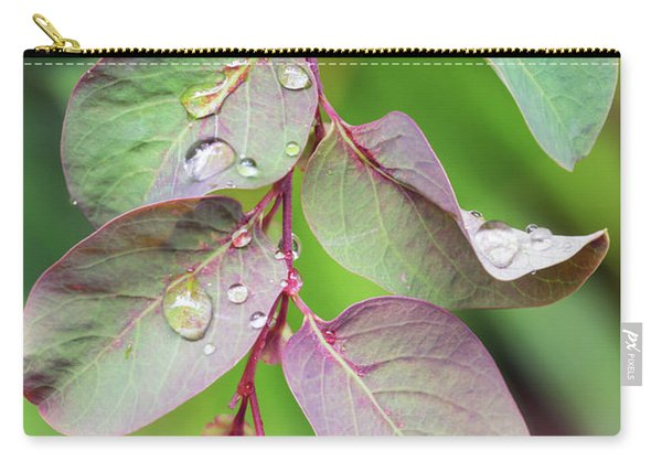 Leaves And Raindrops Carry-all Pouch