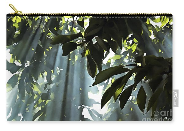 Leaves In The Sun Carry-all Pouch