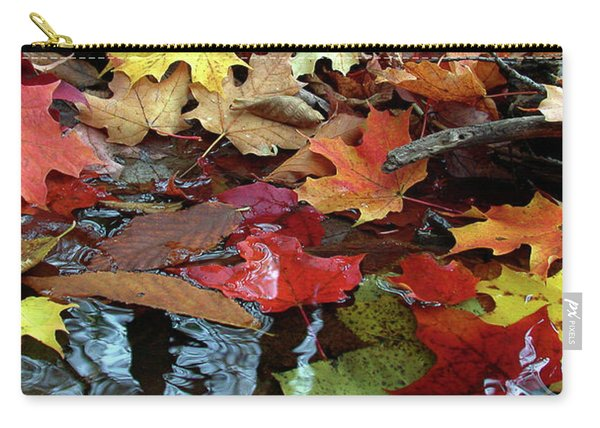 Leaves Of Color Carry-all Pouch