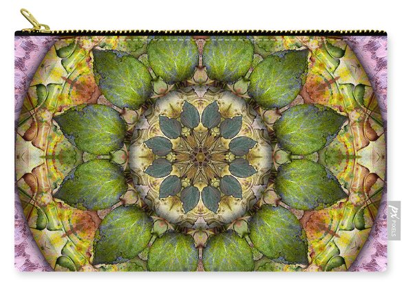 Leaves Of Glass Carry-all Pouch