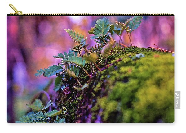 Leaves On A Log Carry-all Pouch