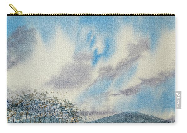 The Blue Hills Of Summer Carry-all Pouch