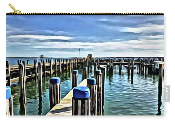 Leaving The Harbour Carry-all Pouch
