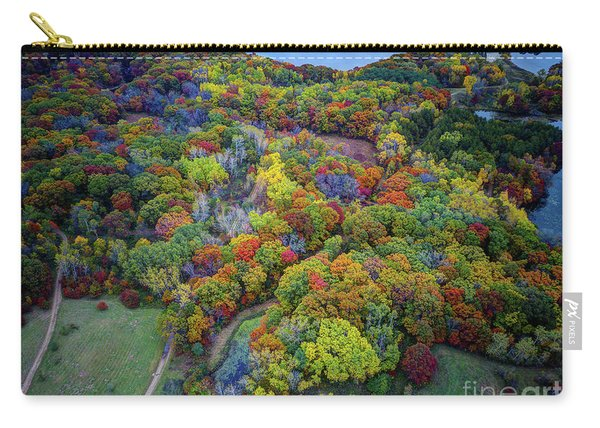 Lebanon Hills Park Eagan Mn Autumn II By Drone Carry-all Pouch