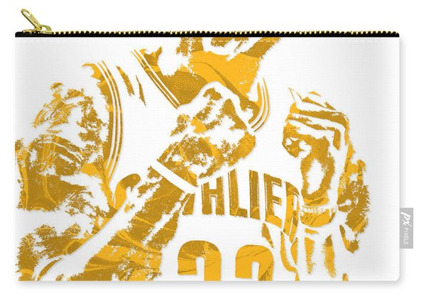 Lebron James Cleveland Cavaliers Pixel Art 9 Carry-all Pouch