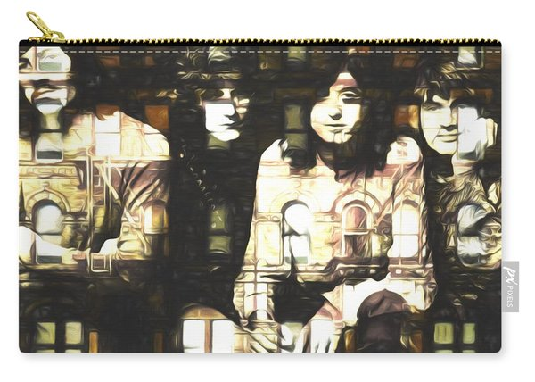 Led Zeppelin Physical Graffiti Carry-all Pouch