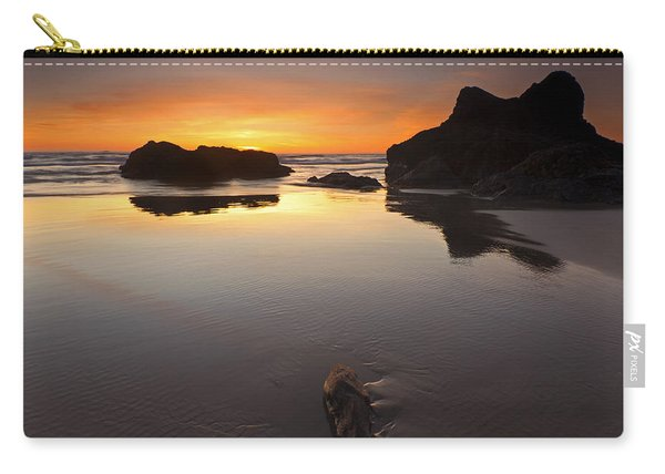 Left By The Tides Carry-all Pouch