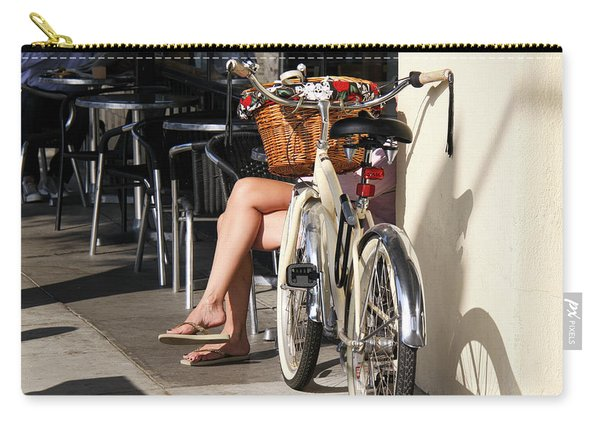 Leg Power - On Montana Avenue Carry-all Pouch