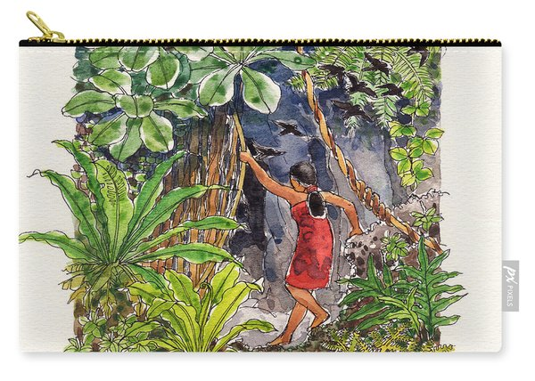 Legend Of The Kopeka Cave Carry-all Pouch