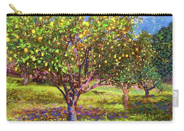 Lemon Grove Of Citrus Fruit Trees Carry-all Pouch