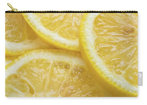 Lemon Slices Number 3 Carry-all Pouch