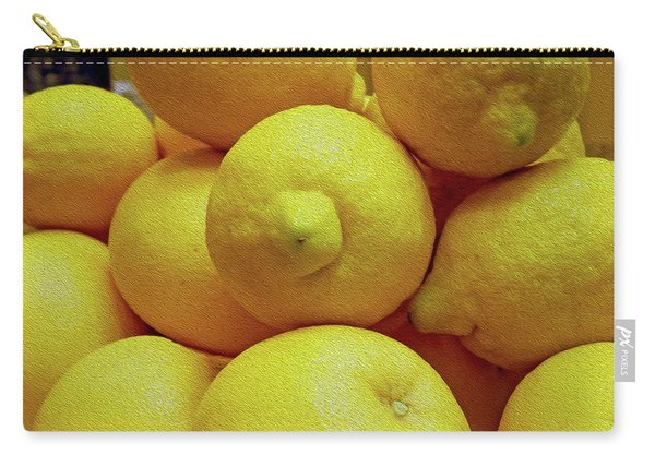 Lemon Squeeze Carry-all Pouch