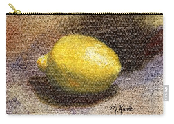 Lemon Still Life Carry-all Pouch