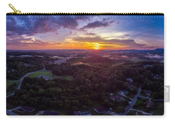 Lenoir North Carolina  Sunset Carry-all Pouch