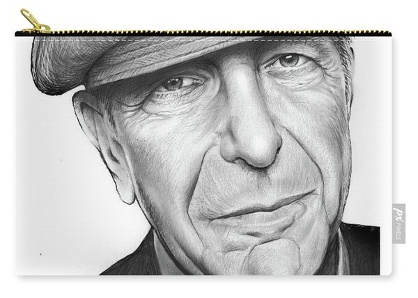 Leonard Cohen Carry-all Pouch