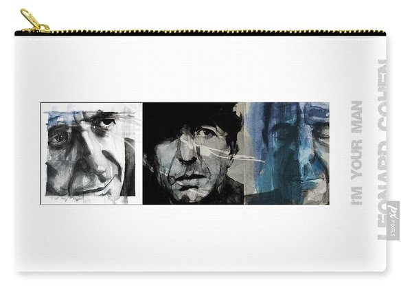 Leonard Cohen Triptych Carry-all Pouch