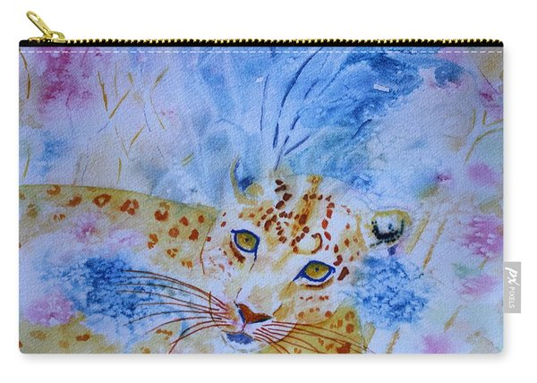 Leopard Hide And Seek Carry-all Pouch