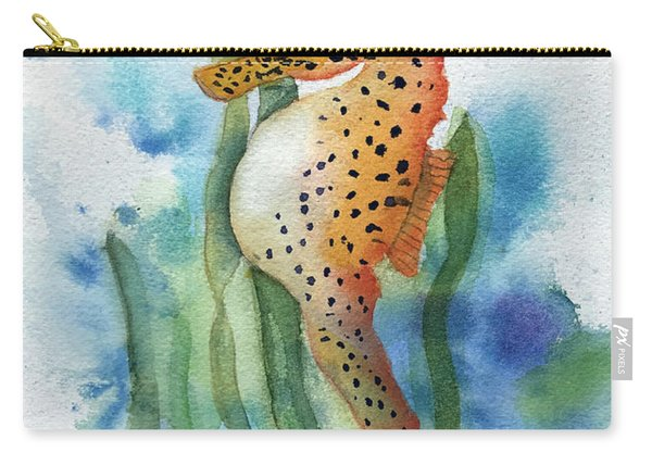 Leopard Seahorse Carry-all Pouch