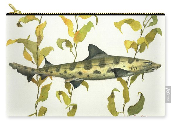 Leopard Shark Carry-all Pouch