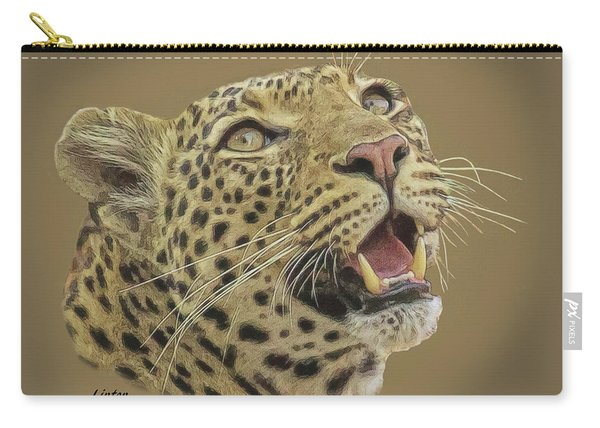 Leopard Tee Carry-all Pouch
