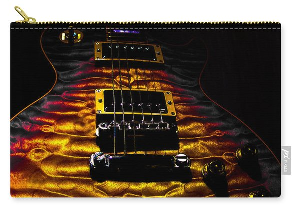 Tri-burst Quilt Top Guitar Spotlight Series Carry-all Pouch