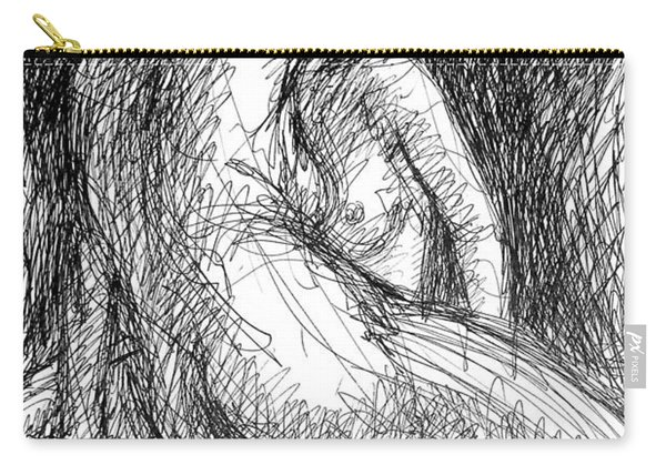 Lesbian Sketches  1 Carry-all Pouch