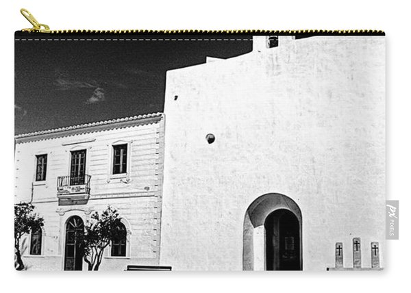 Fortified Church, Formentera Carry-all Pouch