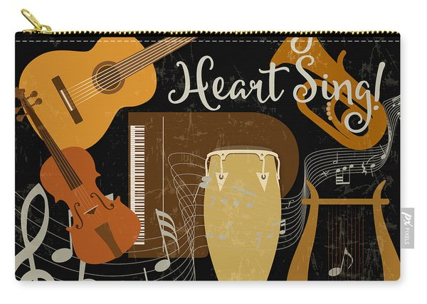 Let The Music Play-jp3511 Carry-all Pouch