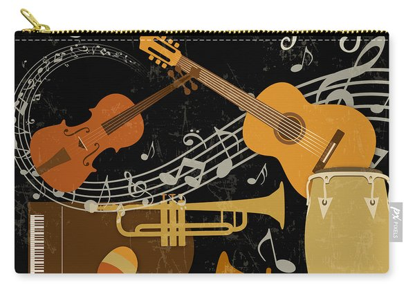 Let The Music Play-jp3512 Carry-all Pouch