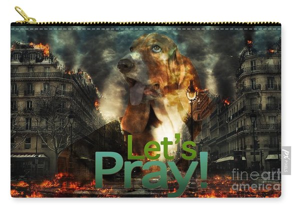 Let Us Pray Carry-all Pouch