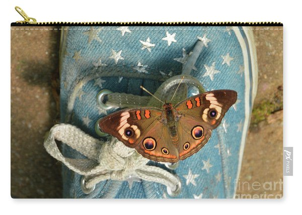 Let Your Spirit Fly Free- Butterfly Nature Art Carry-all Pouch